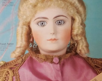 Vintage 1980's  Doll Crafter Magazine Doll Collectors Compo Dolls and More
