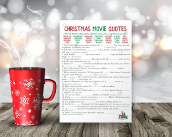 Christmas games, Christmas movie quotes, Christmas adult games, printable Christmas games, Christmas cards, Christmas kids games, printable