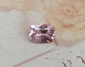 Morganite 9x7mm 1.64 Carat Rectangle Cushion Cut Salmon Pink Peach Purple Loose Gem Unmounted Gemstone For Engagement Ring Wedding Wholesale