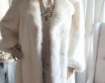 Vintage mink coat | Etsy