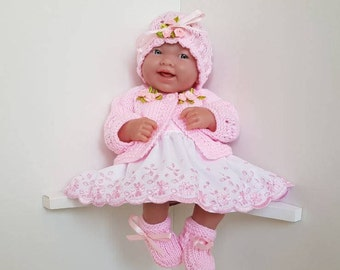 Baby Dolls Outfit for 14 inch / 35 cms dolls - BERENGUER / CUPCAKE / La Newborn / Reborn