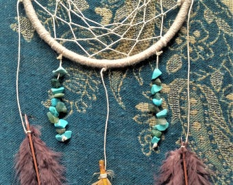 "Native American inspired Dreamcatcher | ""ThunderBird"""