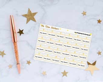 Me Time Planner Stickers, Relax Stickers, Candle Stickers, Aromatherapy Stickers, Vinyl Stickers