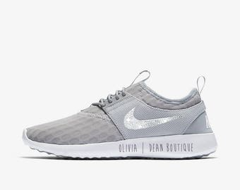 Custom Nike Junvenate Sneakers with Swarovski Crystals