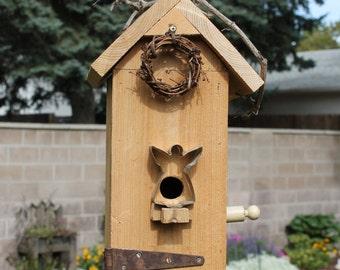 Angel Cookie Cutter Birdhouse