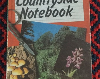 Vintage Ladybird Book - Conservation Countryside Notebook