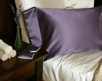 Satin Pillowcase, Satin Pillow Case, Satin Pillow Cover, Hair Care, Satin Bedding, Hair and Lash Extension Care