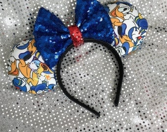 Inspired Donald Duck Minnie / Mickey Mouse Ears