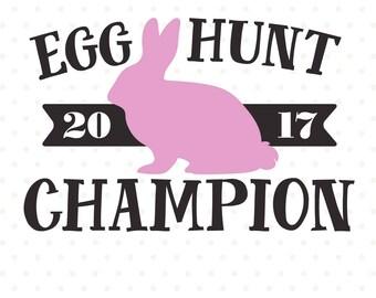 Egg Hunt SVG, Easter Shirt svg, Easter Iron on file, Egg Hunt Champion, Easter SVG design, Easter Bunny svg, Commercial DXF, Vinyl cut file