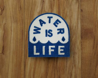 Water is Life Patch