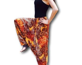 Yoga pants, Boho clothing, Ethnic clothing, Gypsy pants, Gypsy clothing, Harem pants, Hippie clothes, goa,rave clothing, festival clothing