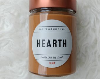 Soy Candles - Vanilla Chai scented candles   Hand poured   Cruelty free   Handmade   Fall candles   Gifts for her   Housewarming gifts