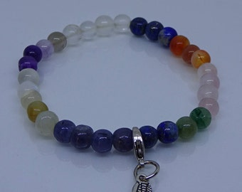 Chakra beads healing bracelet.