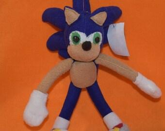 Sonic the Hedgehog Handmade Plush