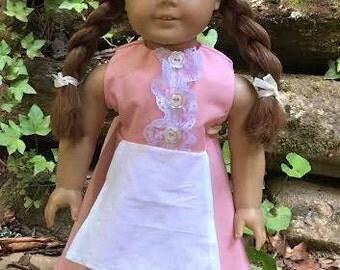 18 inch doll British Countryside dress
