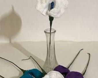 Calla Lily Flower - crochet, ***Also sold in DISCOUNTED bundles***, crochet flowers, crochet patterns