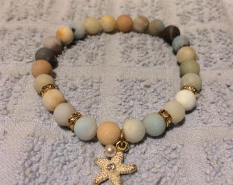Sandy Beach Starfish Bracelet