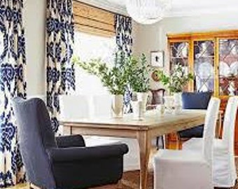 Dining room curtains | Etsy