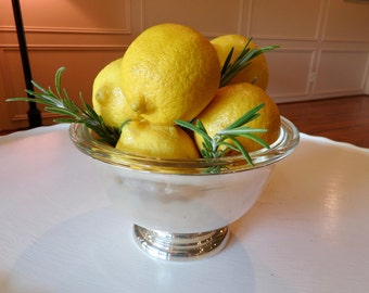 Pyrex Bowl with Silver Nesting Bowl