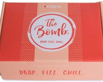 Love Made Me...The Bomb! Drop. Fizz. Chill!