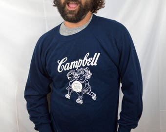 Vintage 80s Campbell Soup Sweatshirt Pullover