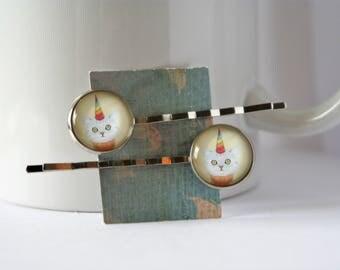 Unicat Cupcake Bobby Pins