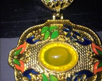 Cloisonne pendant