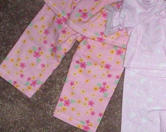 "A.G. 18"" DOLL Pajamas, Nightgown  .. CLEARANCE  ** Fits all 18"" dolls! 16"" and Preemies too!"