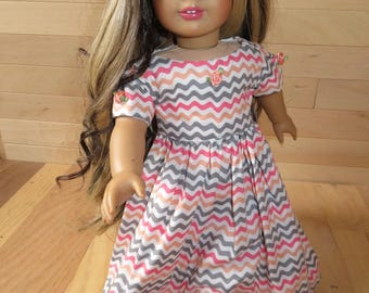 Doll Dress  fits like AG clothes