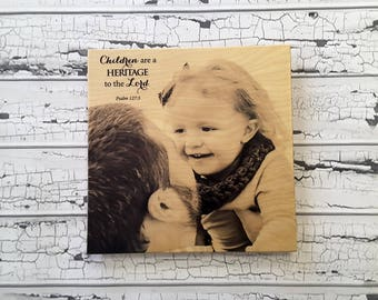 Fathers Day Gift, Fathers Day, Photo on wood, Pictures on Wood, Wood Photo Prints, Wood Photo Print, Wood Photo Frame, Photo Frame