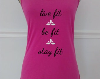 Live Fit™Racerback Tank,Workout Tank,Exercise Tank,Women's Racerback Tank,Fitness Tank Top,Running Tank,Women's Gym Tank,Workout Clothing