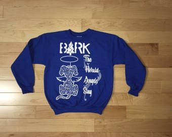 Kids holiday sweatshirt, Ugly Christmas Sweater, dog shirt, Bark the Herald, dog lover gift, funny sweatshirt, youth shirts, rctees, dogs