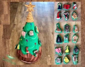 Felt Christmas Tree - Christmas Gift Idea for Kids - Toddler 3D Plush Tree -Holiday Gift Guide - Gift for Boys and Girls