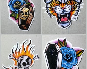 Tattoo Design Stickers 2