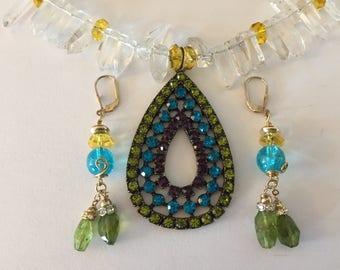 Jewelry Set, Crystal Jewelry Set