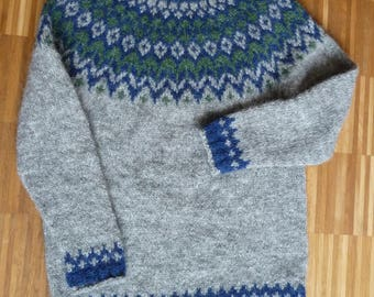 Iceland sweater from Iceland wool-Lopi Lopapeysa