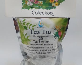 Tua Tua Tea (Jatropha gossypiifolia) 20 Servings