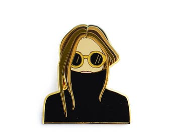 Woman Enamel Pin / Enamel Pin / Fashion Enamel Pin / Hard Enamel Pin /Pin Badge /Lapel Pin /Gold Enamel Lapel Pin /Fashion Lapel Pin/ Pins