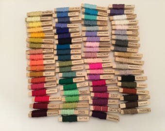 Pippin's  Yarn Peg Color Planner