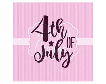 4th Fourth of July Fireworks USA America Cookie Stencil 5.5 x 5.5""