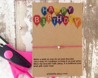 Happy Birthday Cards, Handmade Birthday Cards, Birthday Cards, Paper Goods, Friendship Beacelets, Wish Bracelets