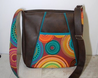 Handbag - graphic pattern