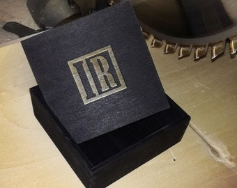 100 Personalised Wooden Boxes cm 7x7x4