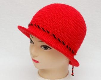 Winter Hat Crochet Girls Hats Womens hats Womens bucket hat Girls Bucket Hat Crochet hat Wide Brim Hat Gift for women Gift for Girls gift