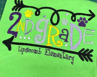 Grade level teachers shirt