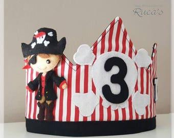 Corona Birthday Pirate Model