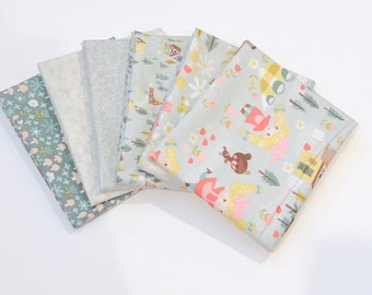 SALE!! Fat Quarter Bundle Golidlocks by Jill Howarth for Riley Blake Designs- 6 Fabrics
