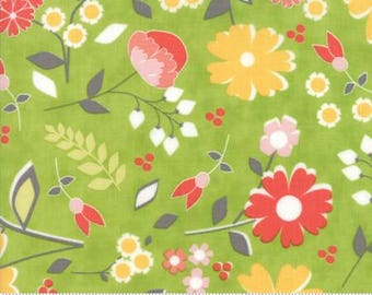 SALE!! 1 Yard Flower Mill by Corey Yoder for Moda- 29030-18 Bloomy Spring