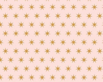 1 Yard Just Sayin' by Jen Allyson of My Minds Eye for Riley Blake Designs -6893 Pink Star
