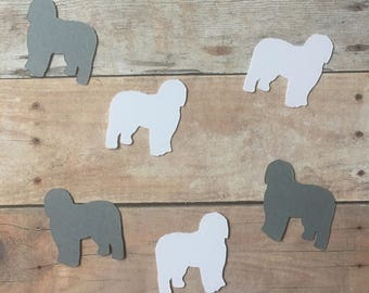 Old English Sheepdog Confetti